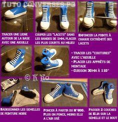 'Converse' Tennis Shoes