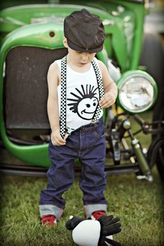 Knuckleheads Checkered Suspenders-knuckleheads, suspenders, boy, baby, toddler, trendy, baby boutique