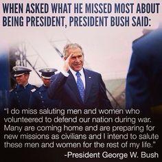 President G.W. Bush