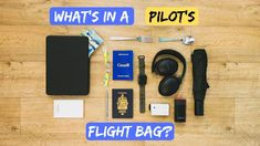What's in a flight bag? My pilot bag revealed! Flight Bag, Pilot, Bags, Handbags, Pilots, Totes, Hand Bags, Purses, Bag