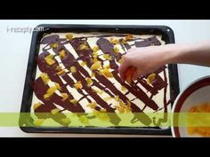 Tvarohový koláč s ovocem - YouTube Muesli, Sweet Recipes, Waffles, Treats, Make It Yourself, Food And Drink, Cooking, Breakfast, Desserts