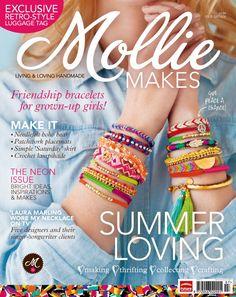 Mollie Makes magazine.