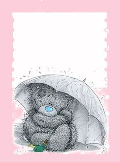 Osito tierno Tatty Teddy, Pretty Writing, Teddy Bear Pictures, Blue Nose Friends, Paper Frames, Cartoon Pics, Writing Paper, Paper Decorations, Paper Background