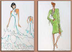 dessin de mode pour la création
