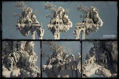 Jonathan Lindblom | Environment Artist: Floating Temple