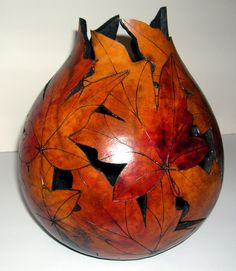 Free+Gourd+Painting+Patterns | Autumn Delight dscn 2191 - Gourd Art Originals