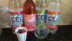 Berry Fizz Date 4 oz of Double Date from Traveling Vineyard 1 oz of flavored seltzer Handful of mixed berries Pour all into a wine glass and ENJOY!