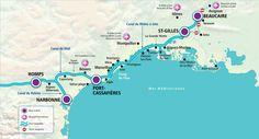 : Different boating regions Aquitaine, La Grande Motte, Self Driving, Rhone, Alsace, Loire, Boating, Brittany, Cruise