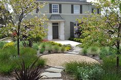 backyard landscaping with gravel ideas | Front Yard Landscape Ideas That Make an Impression