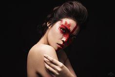 Sandra Scherer Jennifer Chaxx  MUA: Creative Head - Hair & Make-up www.analora-photoart.de