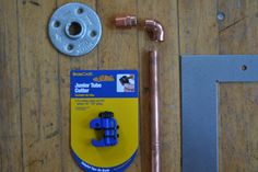 stuff to make copper pipe curtain rod