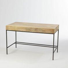 Rustic Storage Desk | West Elm sewing table