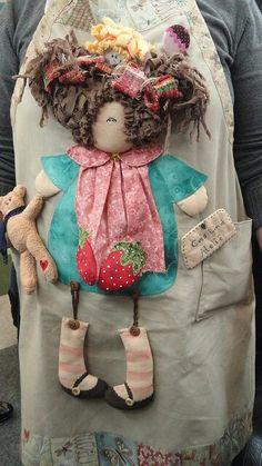Avental de boneca