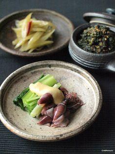 春の味覚、蕗炒り、蕗の葉味噌、うるいの酢味噌。|レシピブログ