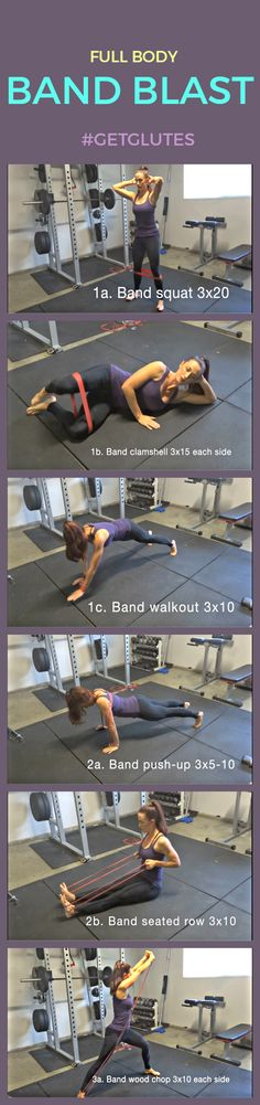 Full Body Band Blast: A Workout Routine You Can Do Anywhere - GetGlutes: Workouts Designed with Your Curves in Mind