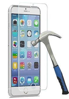 """Film vitre de protection écran iPhone 4/5/6 en verre trempé haute transparence et ultra résistant (incassable, inrayable 9H) et Ultra Slim (0,26mm) avec bords arrondis - pour une protection et un confort d'utilisation optimal de votre telephone (Iphone 6 - 4.7"""") Starke Media http://www.amazon.fr/dp/B00OL8BOTS/ref=cm_sw_r_pi_dp_Kyj6vb1WSJJ4P"""