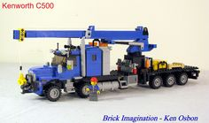 Lego Tractor, Lego Truck, Toy Trucks, Lego Crane, Lego Building Sets, Lego Kits, Lego Pictures, Lego Builder, Lego Construction