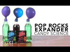 Pop Rocks Expander (Candy Science) - SICK Science | Science Experiments | Steve Spangler Science