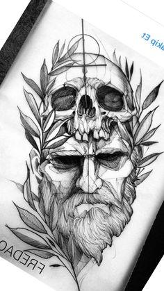 Sketch style tattoos, tattoo design drawings, tattoo designs, forearm t Sketch Style Tattoos, Tattoo Design Drawings, Tattoo Sketches, Art Sketches, Tattoo Designs, Art Drawings, Skull Tattoos, Body Art Tattoos, Sleeve Tattoos