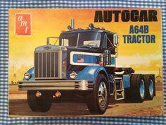 AMT Autocar Model Truck Kit.