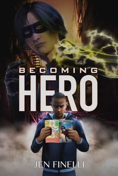 BECOMING HEROIS AVAILABLE FOR PRE-ORDER NOW! (RELEASE: AUGUST 31)    SKYEis the storm-tossed comic characterout for revenge on the author who murdered his family.  JACEis the math-loving #blerd trying to escape his father's deadly legacy.
