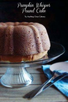 Pumpkin Whisper Pound Cake