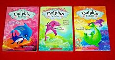 3 Dolphin School Chapter Books Hapka Grades 1st 2nd 3rd Readers Level 2 Teachers