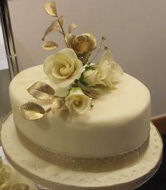 cream wedding cakes - Google Search