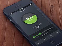 Charging Animation by Corey Lui Ui design