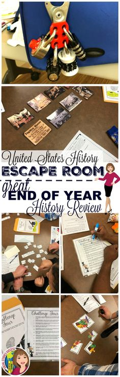 What a great way to review all of US History for the year!