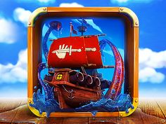 App Icon Design - For Pirate Ship Game by Dash