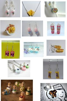 """""""Food jewelry lol!!!"""" by tessaschmedwards ❤ liked on Polyvore"""