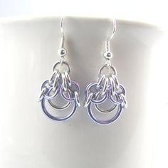 Today's Deal  Demeter Chainmaille Earrings by dancingleafstudios