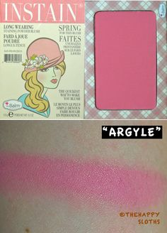 TheBalm Instain Blush in Argyle: Review and Swatch