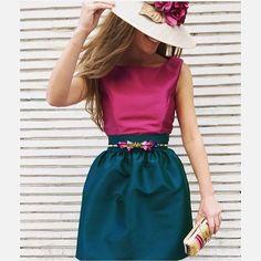 Cómo nos gustan los look de @tacatucazaragoza ! Buenas noches !  #invitada #invitadas #invitadaboda #boda #bodas #tocado #tocados #falda #pamela #blusa #cinturon #weddings #weddings #weddingguest #guest #moda #fashion #zaragoza #style #stylish #instacool #pamela #headdress #invitadaperfecta #invitadaconestilo #lookboda #elegancia #elegante #invitadaperfecta