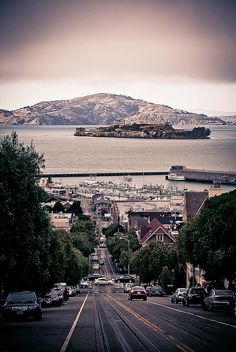On March 1963 Alcatraz Prison in San Francisco Bay closed. Places Around The World, Oh The Places You'll Go, Places To Travel, Places To Visit, Around The Worlds, San Francisco Travel, San Fransisco, Road Trip, California Travel