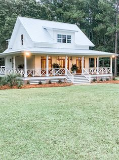 Dream House Exterior, Dream House Plans, My Dream Home, Cottage Style House Plans, Porch House Plans, Southern Living House Plans, Cottage Style Homes, Small House Plans, Small Cottage Plans