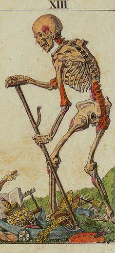 The Classic Tarot - XIII Death