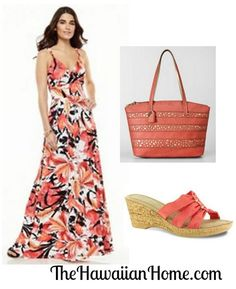 This gorgeous tropical floral maxi dress is perfect for your next vacation. Clothing For Tall Women, Clothes For Women, Hawaiian Homes, Tropical Outfit, Luau Party, Floral Maxi Dress, Fashion Company, Dress For You, Shape