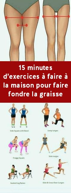 8 Exercise that will burn inner thigh fat - Yoga und Fitness - ENG Fitness Workouts, Fitness Motivation, Fat Workout, Dumbbell Workout, Exercise Motivation, Motivation Quotes, Tummy Workout, Fitness Goals, Health And Fitness Expo