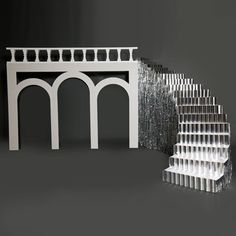 Epic Triple Arch and Stairs Kit-Prom Decorations