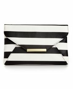 Style  Co Striped Envelope Clutch (@Elaine Young's)