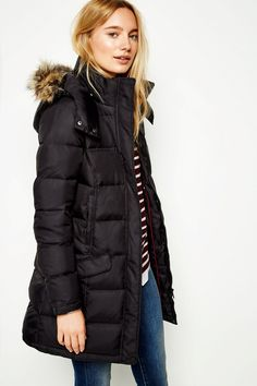 BASSINGBOURNE LONGLINE PADDED COAT | JackWills UK