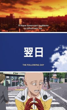 Me with life ~One punch man