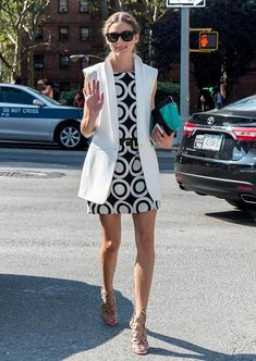 September 04, 2014 Olivia Palermo is seen at Lincoln Center during Mercedes-Benz Fashion Week Spring 2015.