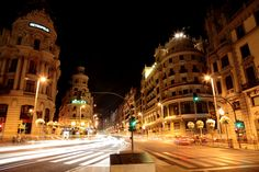 Gran Vía - Madrid!!! An amazing city.
