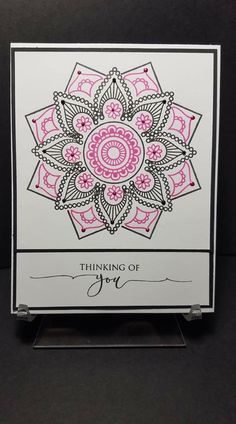 Card Making Inspiration, Making Ideas, Stamp Tv, Stencil Templates, Friendship Cards, Get Well Cards, Pretty Cards, Card Tags, Cool Cards