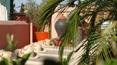 Sun terrace, Riad Al-Bushra, Marrakech