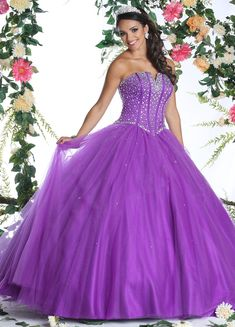 DaVinci Bridal is your ultimate destination for Bridesmaid Dresses, Designer wedding gowns and best bridal dresses online. Purple Quinceanera Dresses, Purple Bridesmaid Dresses, Quinceanera Ideas, Cheap Gowns, Cheap Prom Dresses, Prom Dresses Australia, Sweet 15 Dresses, Bridal Dresses Online, Princess Ball Gowns