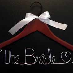 $7.00 Personalized Custom Wedding Hanger by GrandAmour
